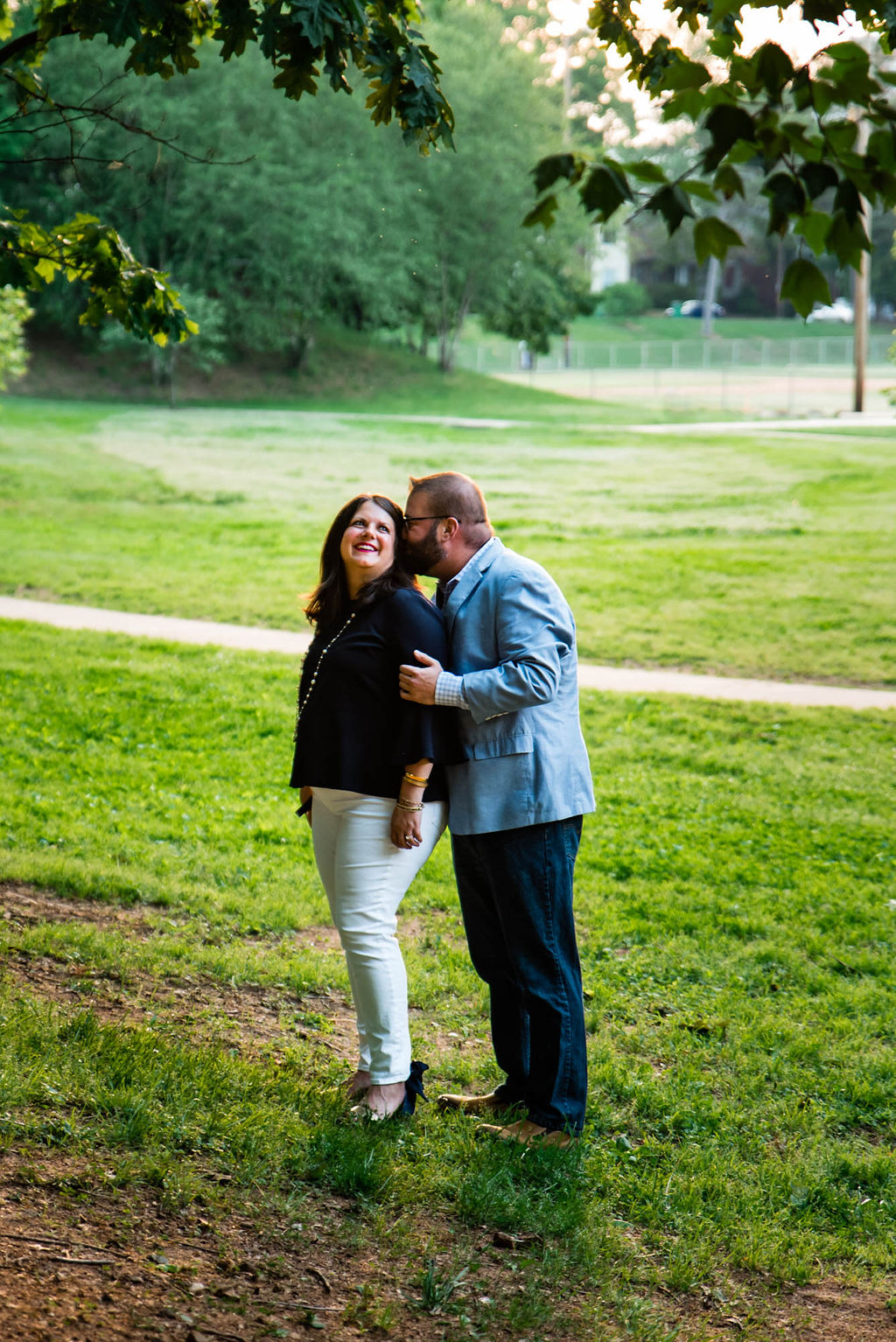 Independence Park Engagement Session by Charlotte Wedding Photographers