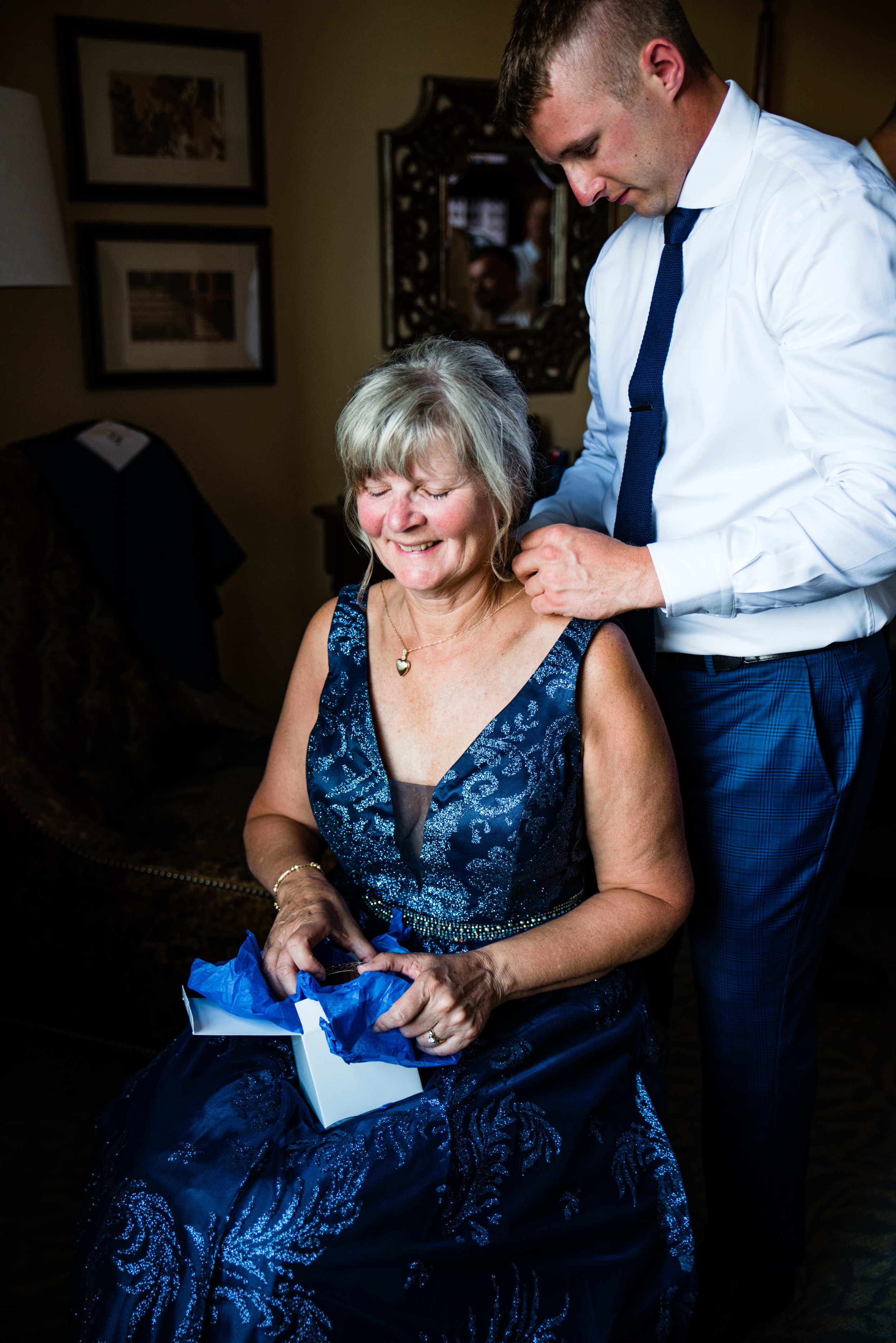 Mother of the Groom by Charlotte Wedding Photographers