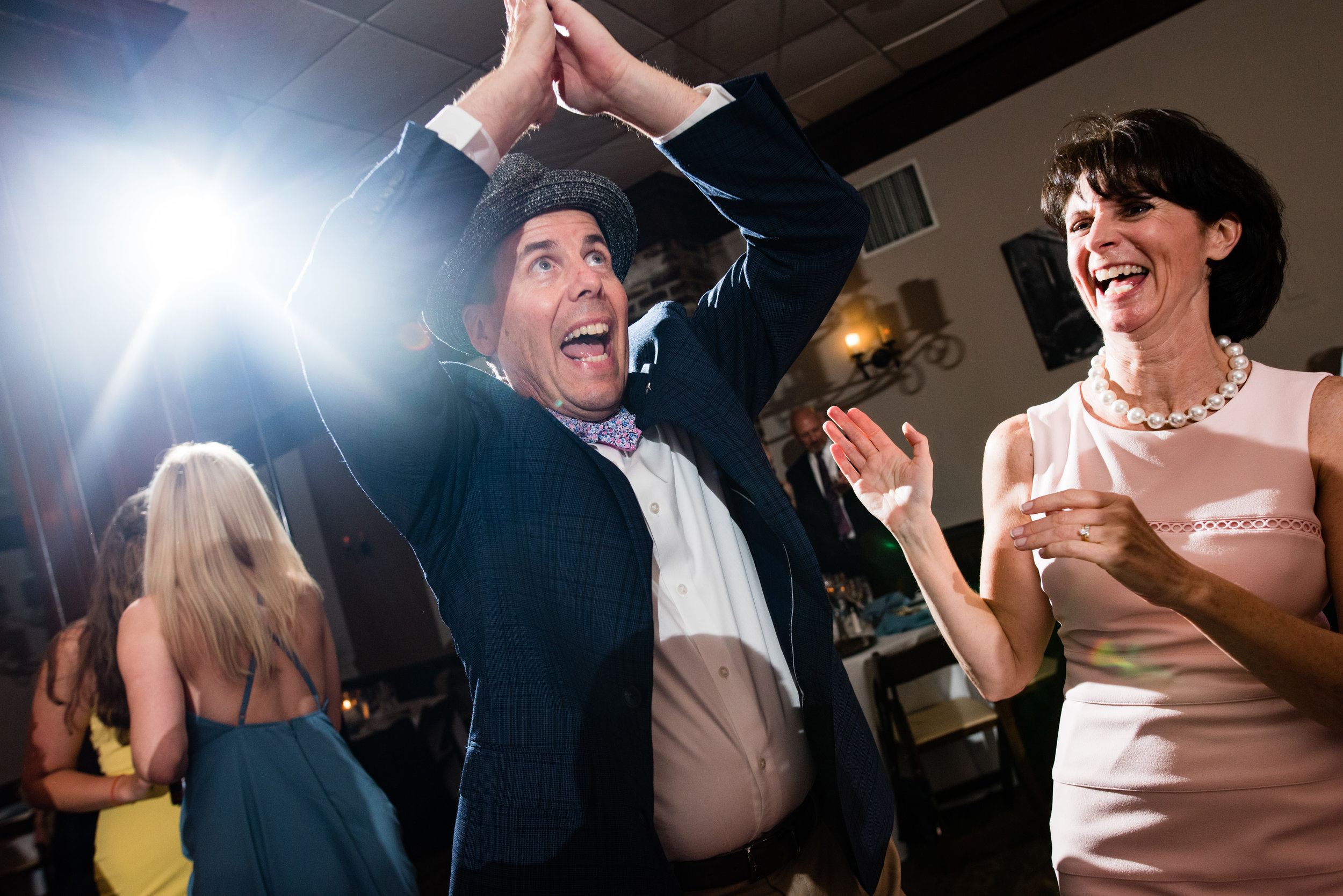 Reception at The Harbour Club Charleston by Charlotte Wedding Photographers