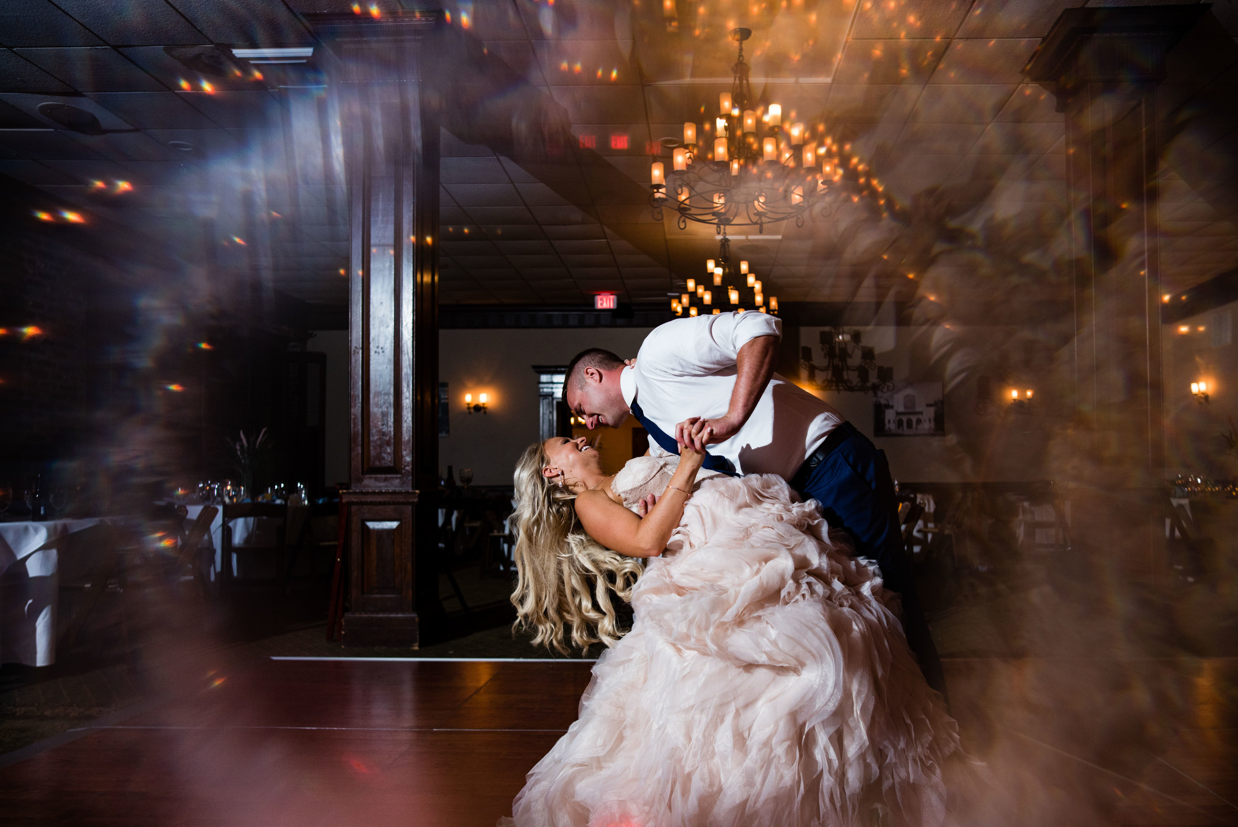 Private Last Dance at The Harbour Club Charleston by Charlotte Wedding Photographers