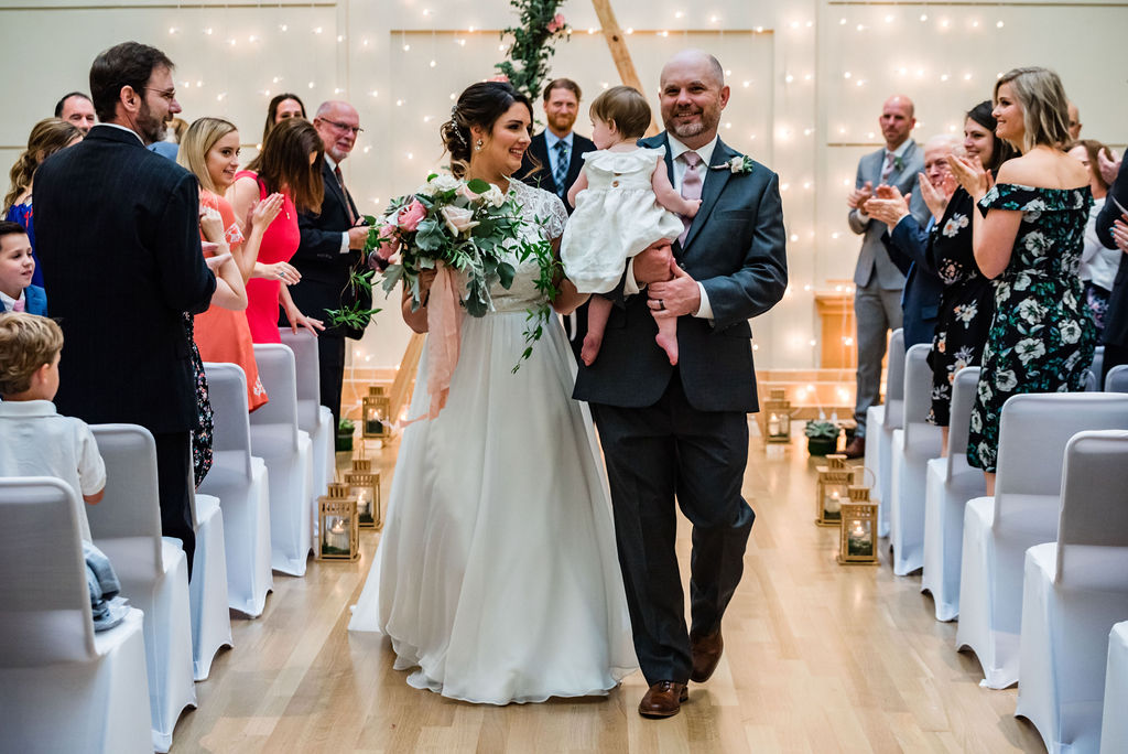 Ceremony at the Levine Museum of the New South by Charlotte Wedding Photographers
