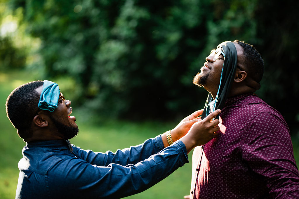 Same Sex Gay Couple Engagement Session by Charlotte Wedding Photographers