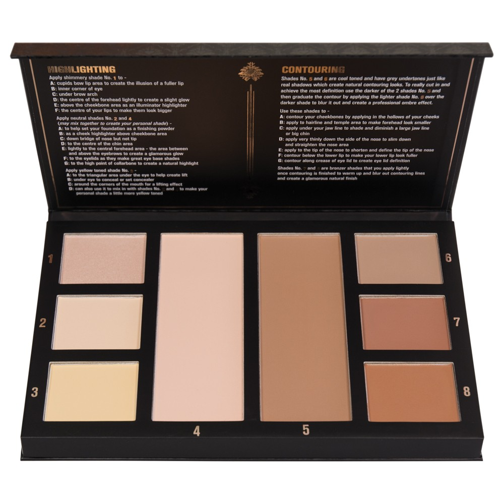 Click to read the review on the ChiChi Contouring & Highlighting Palette