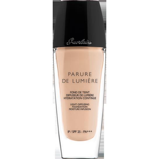 Click to read the review on the Guerlain Parure de Lumiere Foundation