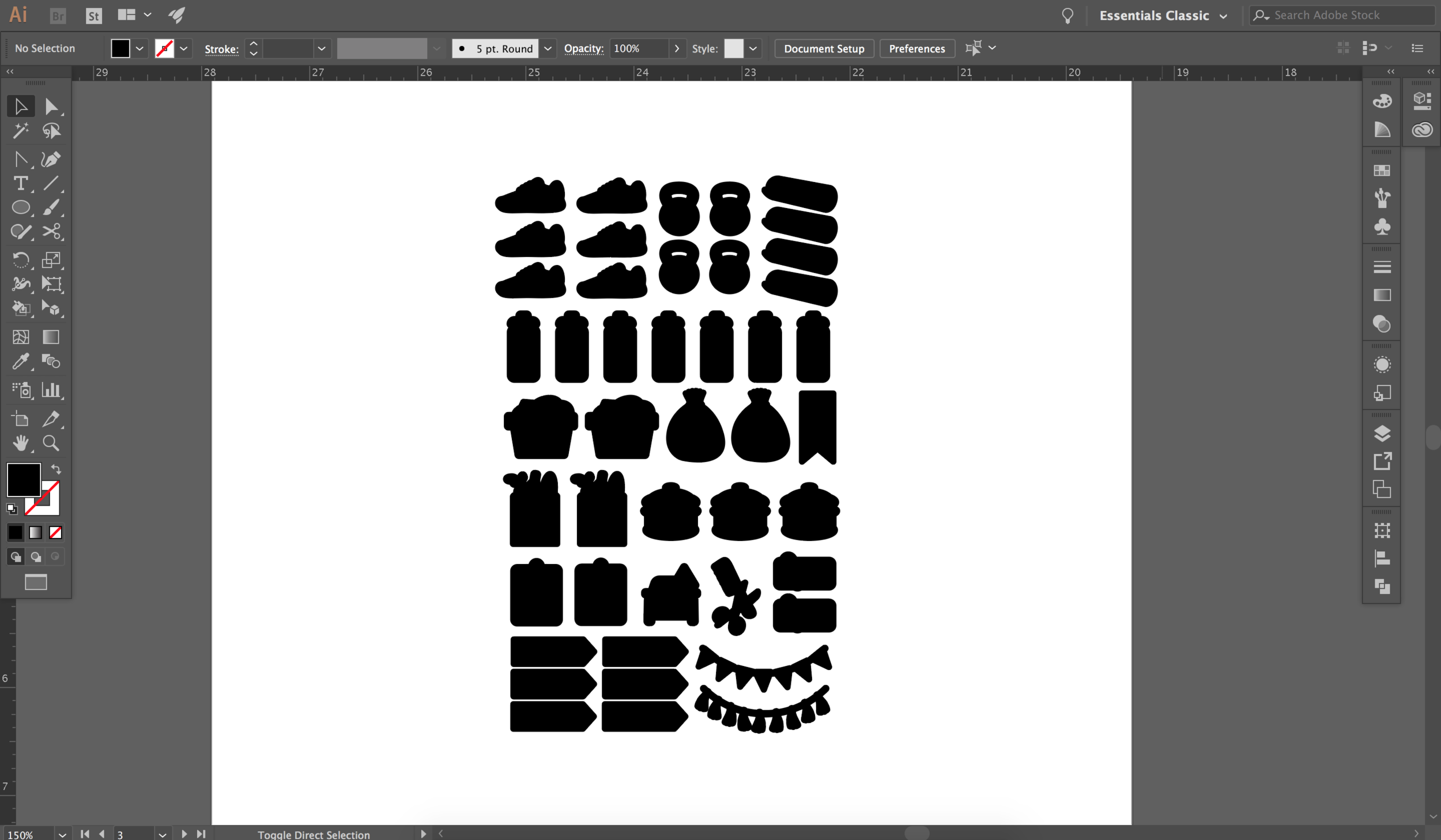 Step 3. Create cut lines in Illustrator