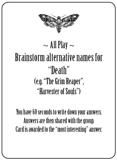 All Play Trivia Card