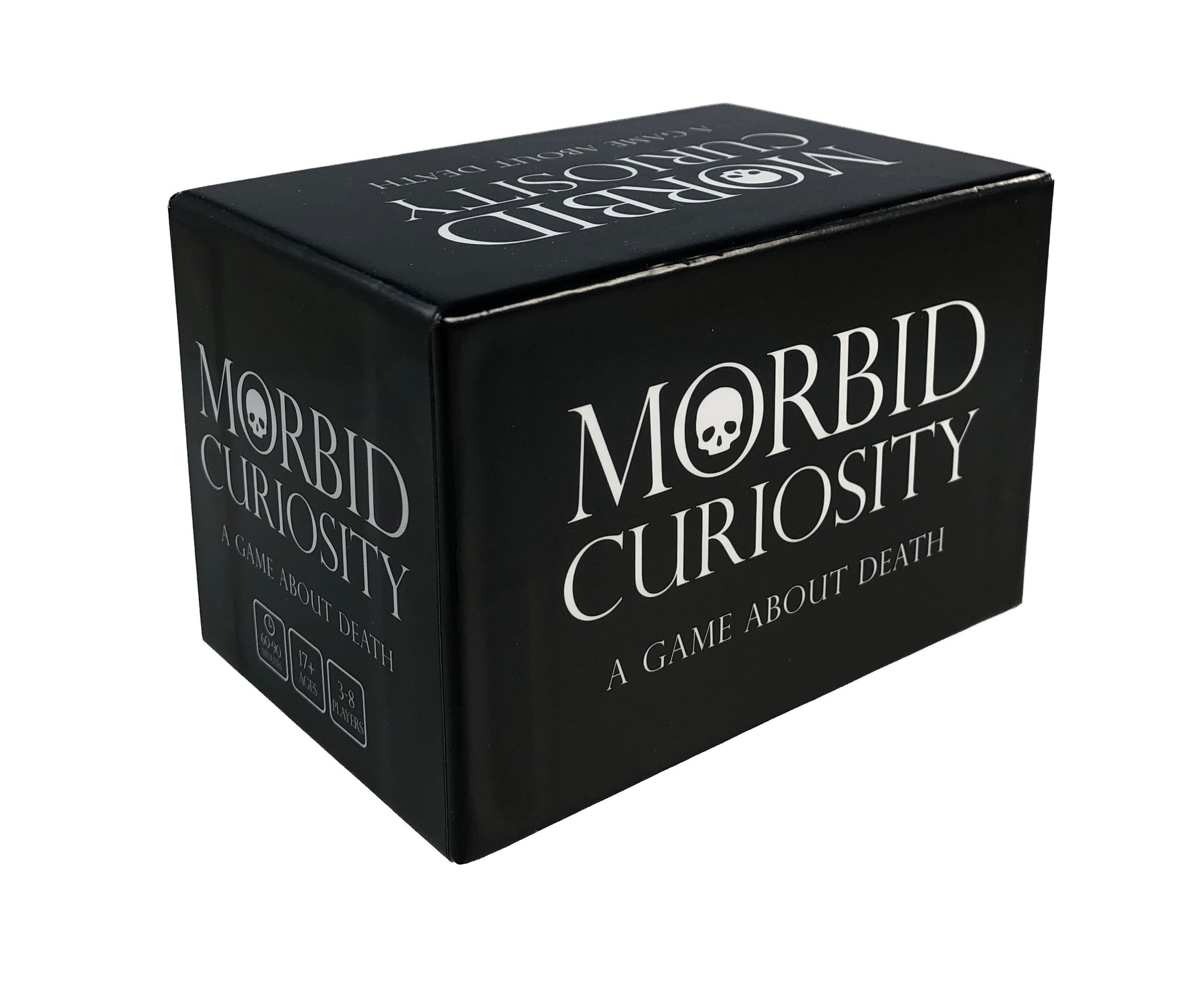 MORBID CURIOSITY - The Original Deck of 162 Trivia, Conversation, and All-Play Questions$25.00 US