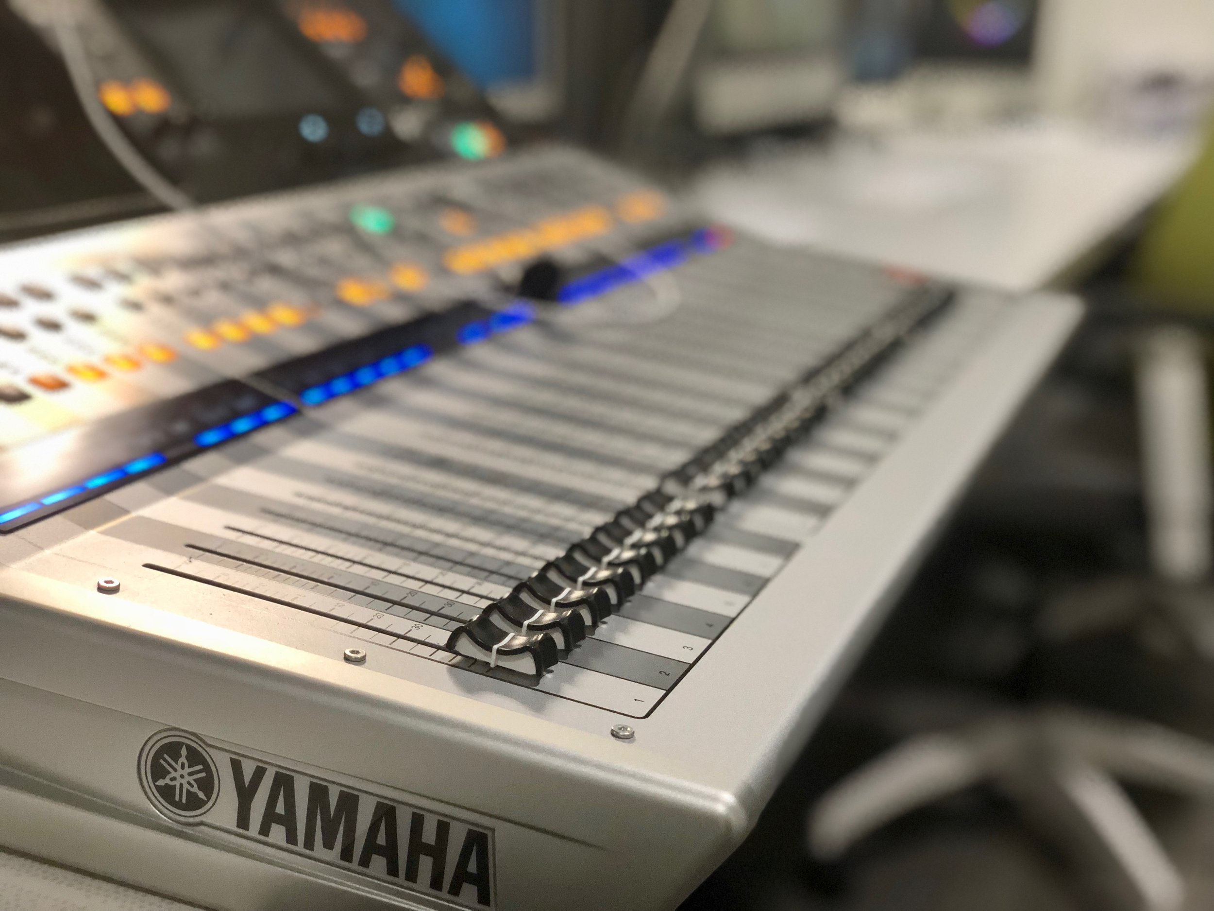 Yamaha TF-5 Series console provides excellent sound quality in this multipurpose venue.