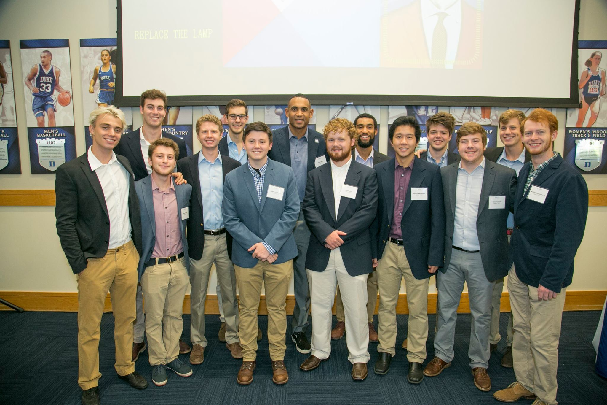 Speak at Homecoming, along with our newest Tenor 1: Grant Hill