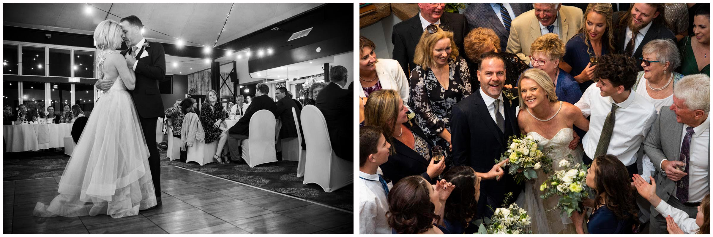 Two beautiful moments from the most recent wedding - Niki & Liam - congratulations