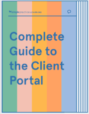 Instructions on how to use the client portal for all existing clients.