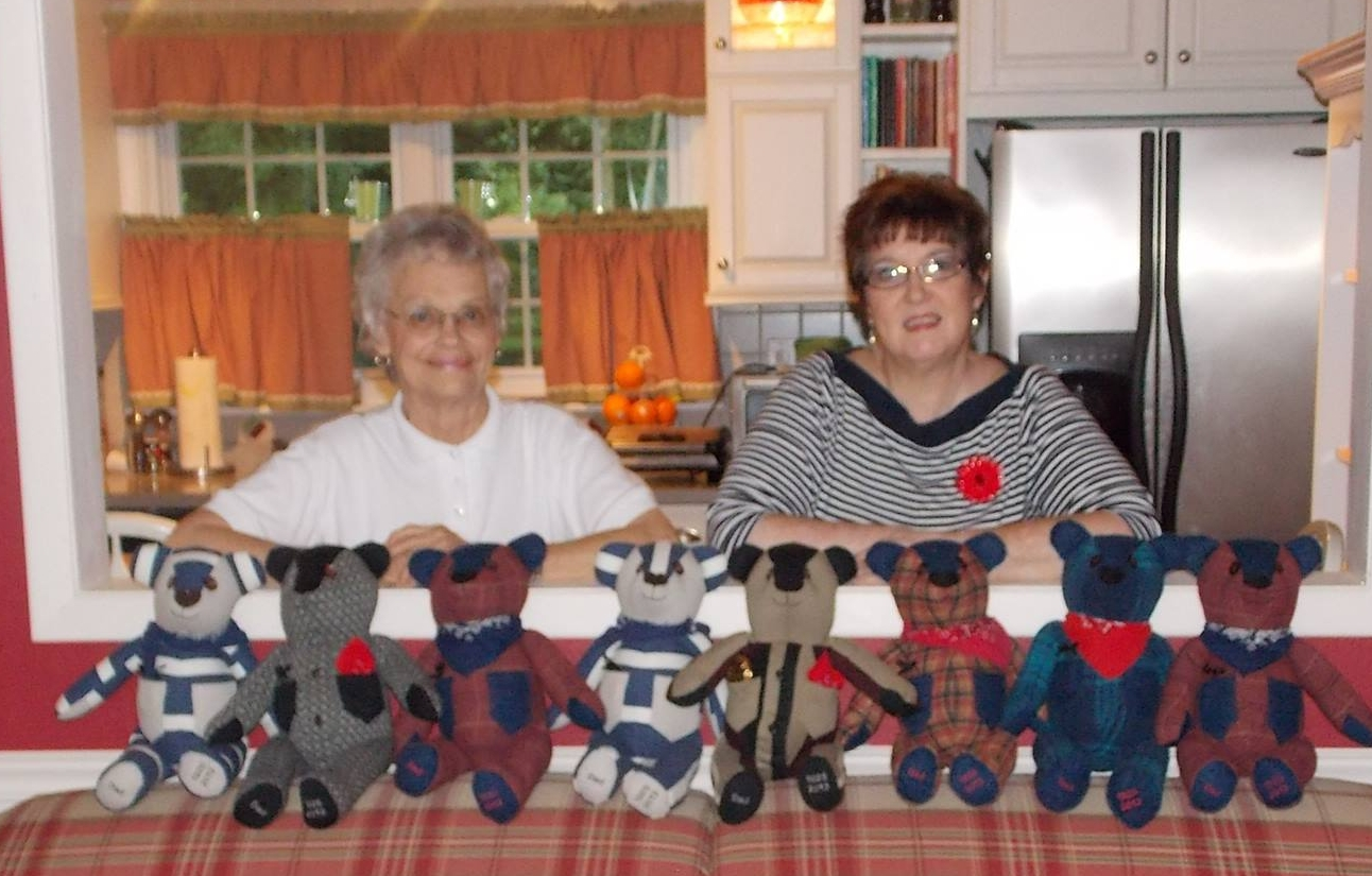 Mildred and Thea Gain - the hands behind Blessing Bears.
