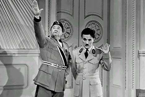 The Great Dictator - Charlie Chaplin and Jack Oakie