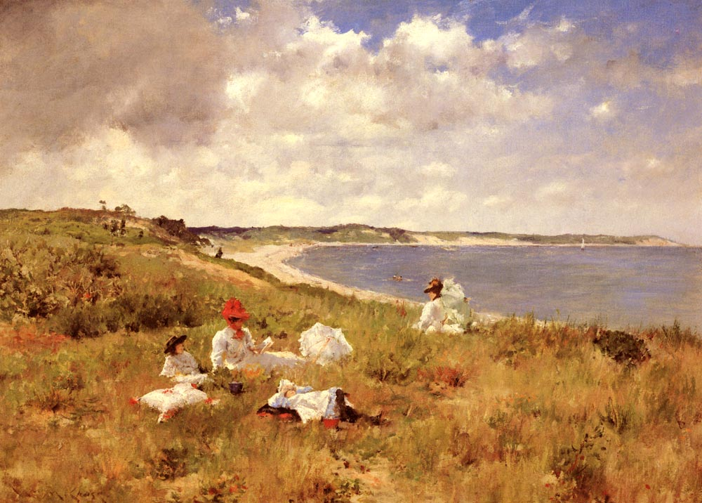 Idle Hours (1894) by William Merritt Chase