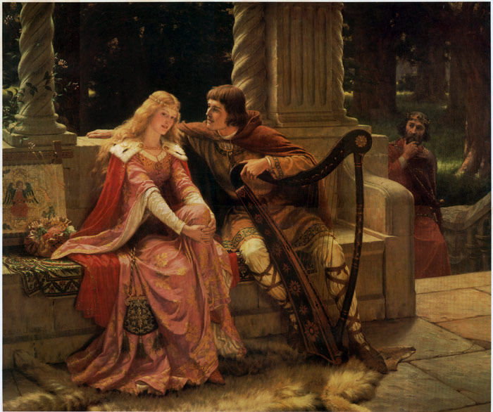 Wagner's prelude to 'Tristan and Isolde' serves as the film score.