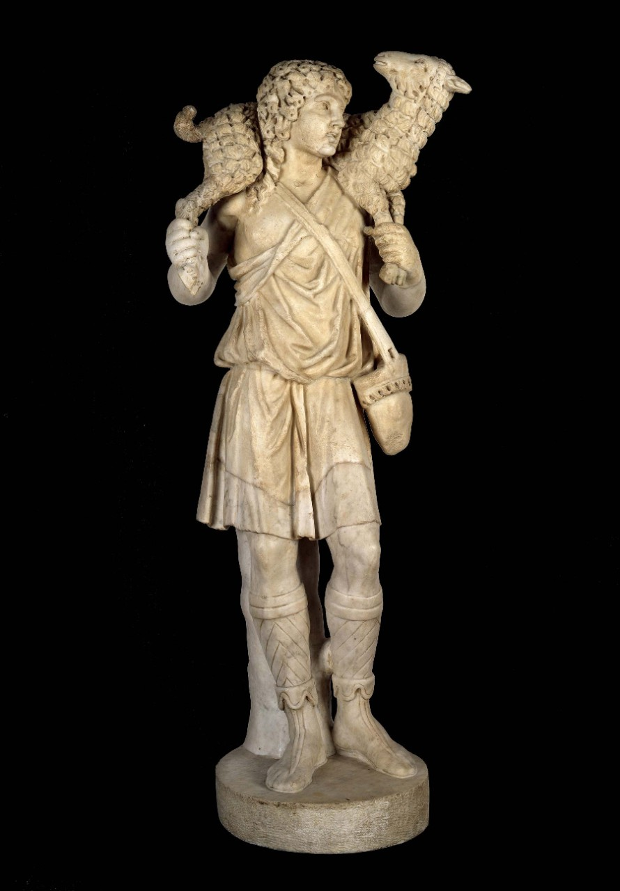 Statuette of the Good Shepherd