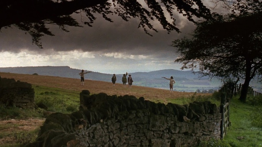 The duel that opens  Barry Lyndon