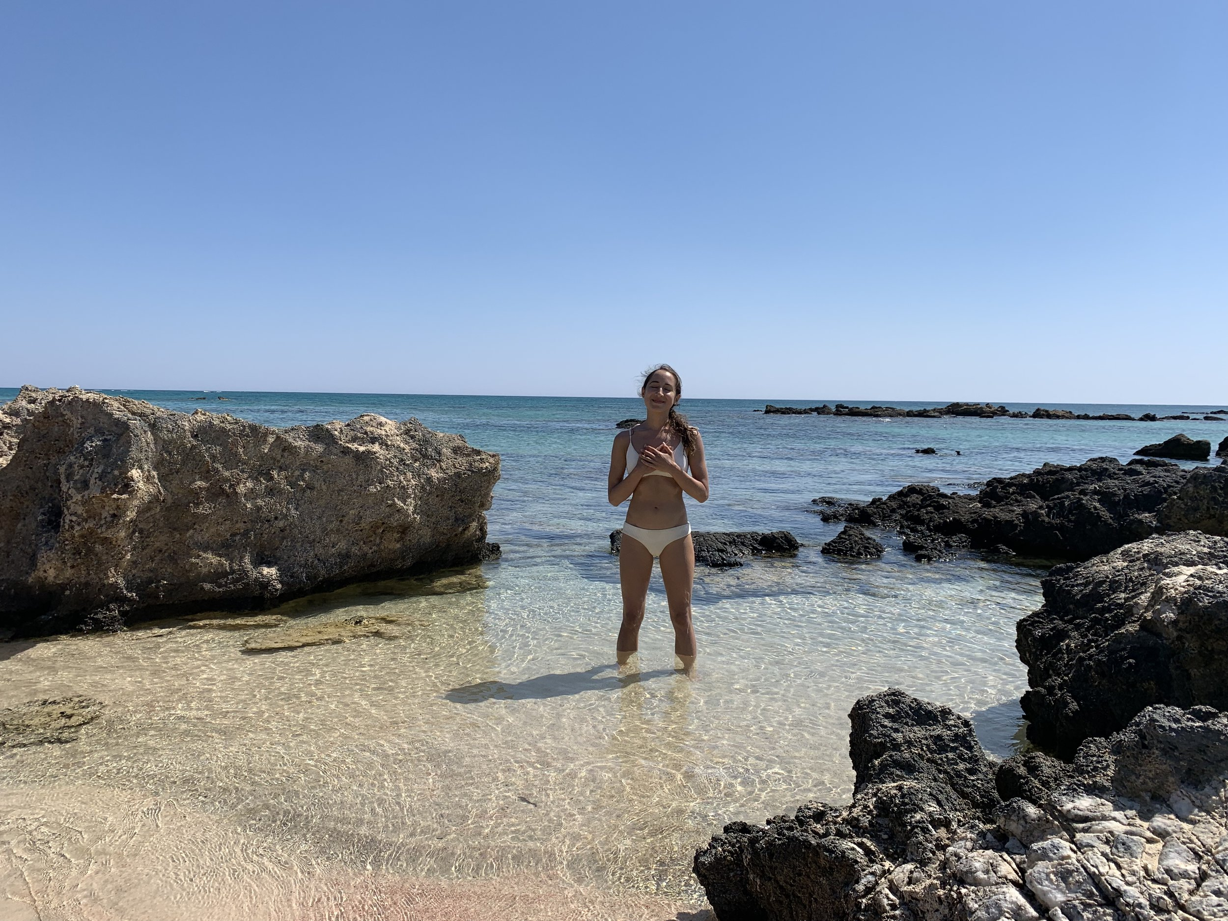 Here I am at Elafonisi beach where I'll be taking you! - Heaven On Earth is here. Come create and experience it!
