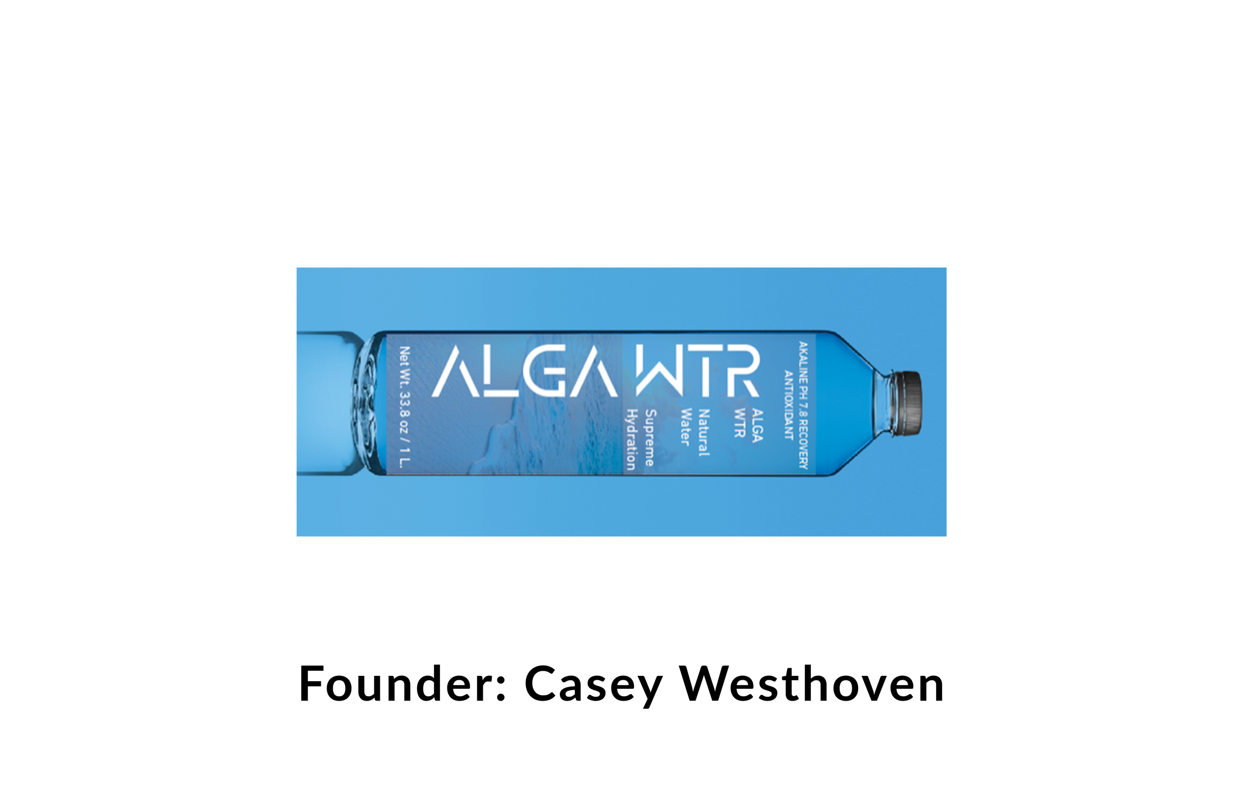 ALGA WTR - ALGA WTR is a functional water beverage enhanced with marine ingredients in order to hydrate you faster and keep you hydrated longer.