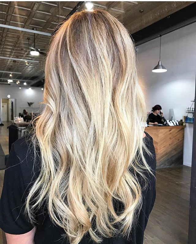 ✨✨@hairbyalexandrea ✨✨ . . . . #slohairstylist #slohair #handpainted #balayage #slo #slostylist #slosalon #slospa #moonriversalon #moonriversalonandspa #slolife #hairoftheday #cosmoprofbeauty #licensedtocreate #bestofbalayage #blonde #shareslo @oneshothairawards #colormelt #babylights #wella #hottools #randco #redken @wellahair @wellaeducation @redken @hottoolspro @ibizahairtools #ibizabrushes @oligopro @gkhair #oligopro #purpleshampoo #gkhair @bestofbalayage @stylistssupportingstylists @behindthechair_com @behindthechair_stylist @behindthechair_oneshot