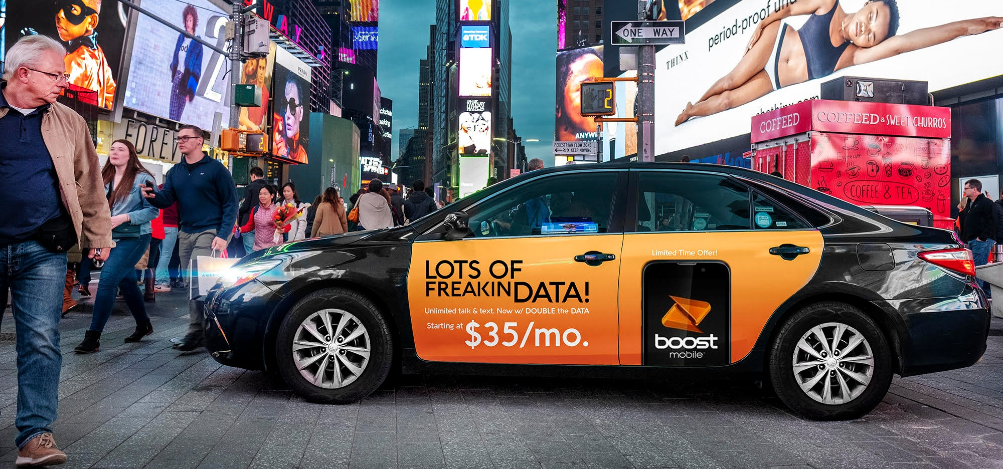 - WE'RE PROUD TO PARTNER WITH CARGO AND BOOST MOBILE TO PROVIDE RIDESHARE DRIVERS NEW WAYS TO EARN MONEY IN ATLANTA!