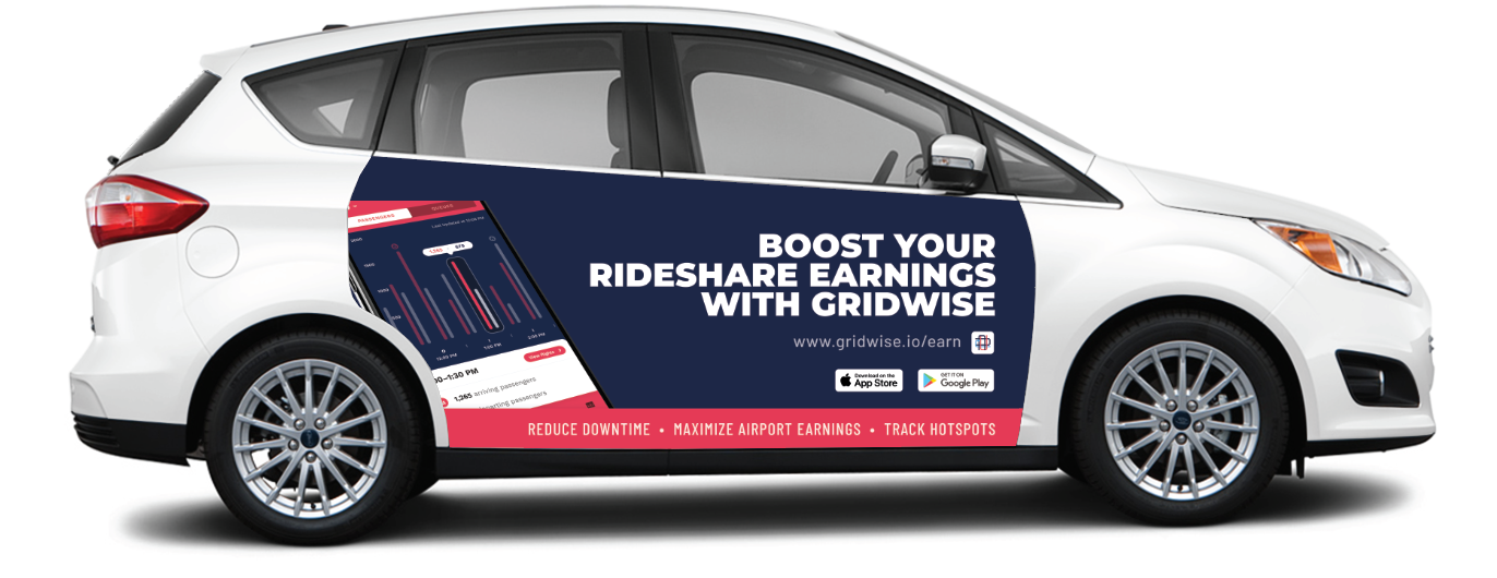 - WE'RE PROUD TO PARTNER WITH GRIDWISE TO PROVIDE RIDESHARE DRIVERS NEW WAYS TO EARN MONEY IN ATLANTA!