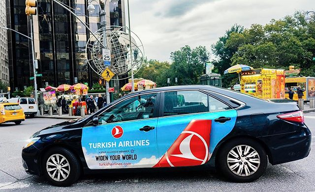 Every day is Plan-Your-Vacation Day 💭 ✈️ 💭 . . . . #mobilads #ooh #ad #advertising #marketing #airline #turkishairlines #travel #vacation #summer #rideshare #uber #via #lyft #outdooradventures