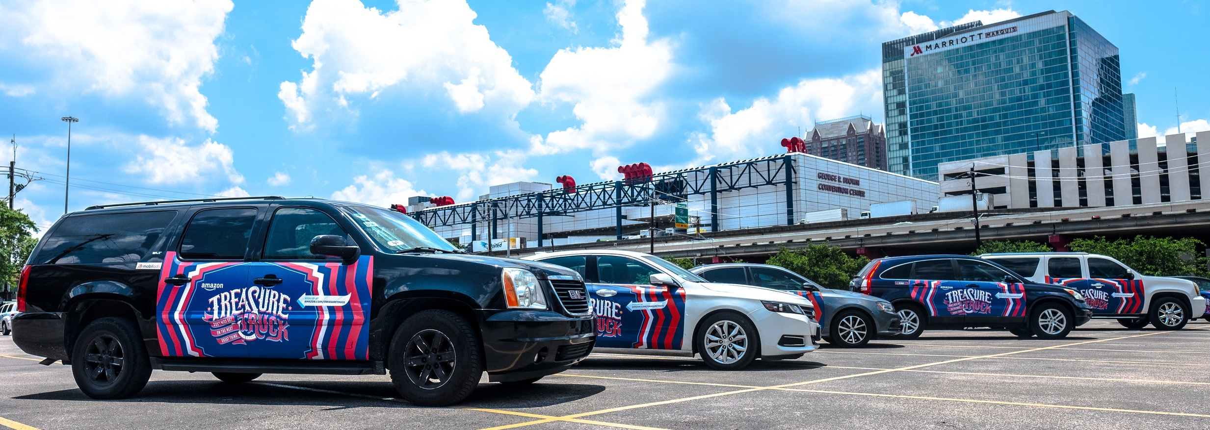 - WE'RE PROUD TO PARTNER WITH AMAZON TO PROVIDE RIDESHARE DRIVERS AN ADVERTISING CAMPAIGN TO EARN MONEY IN COLUMBUS!