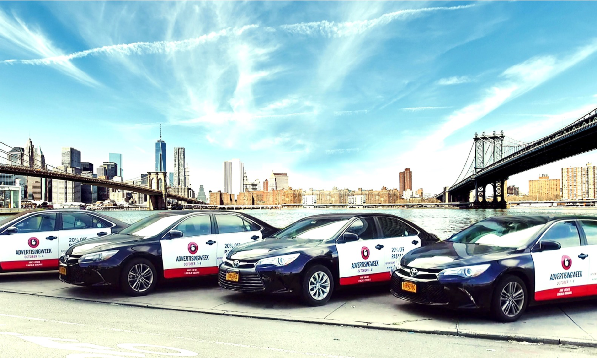 - WE'RE PROUD TO PARTNER WITH ADVERTISING WEEK TO PROVIDE RIDESHARE DRIVERS A CHANCE TO EARN MONEY IN HOBOKEN, NJ!