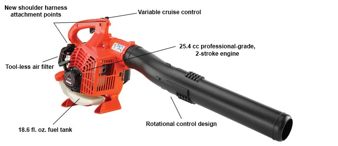 ECHO's highest-performing handheld blower.