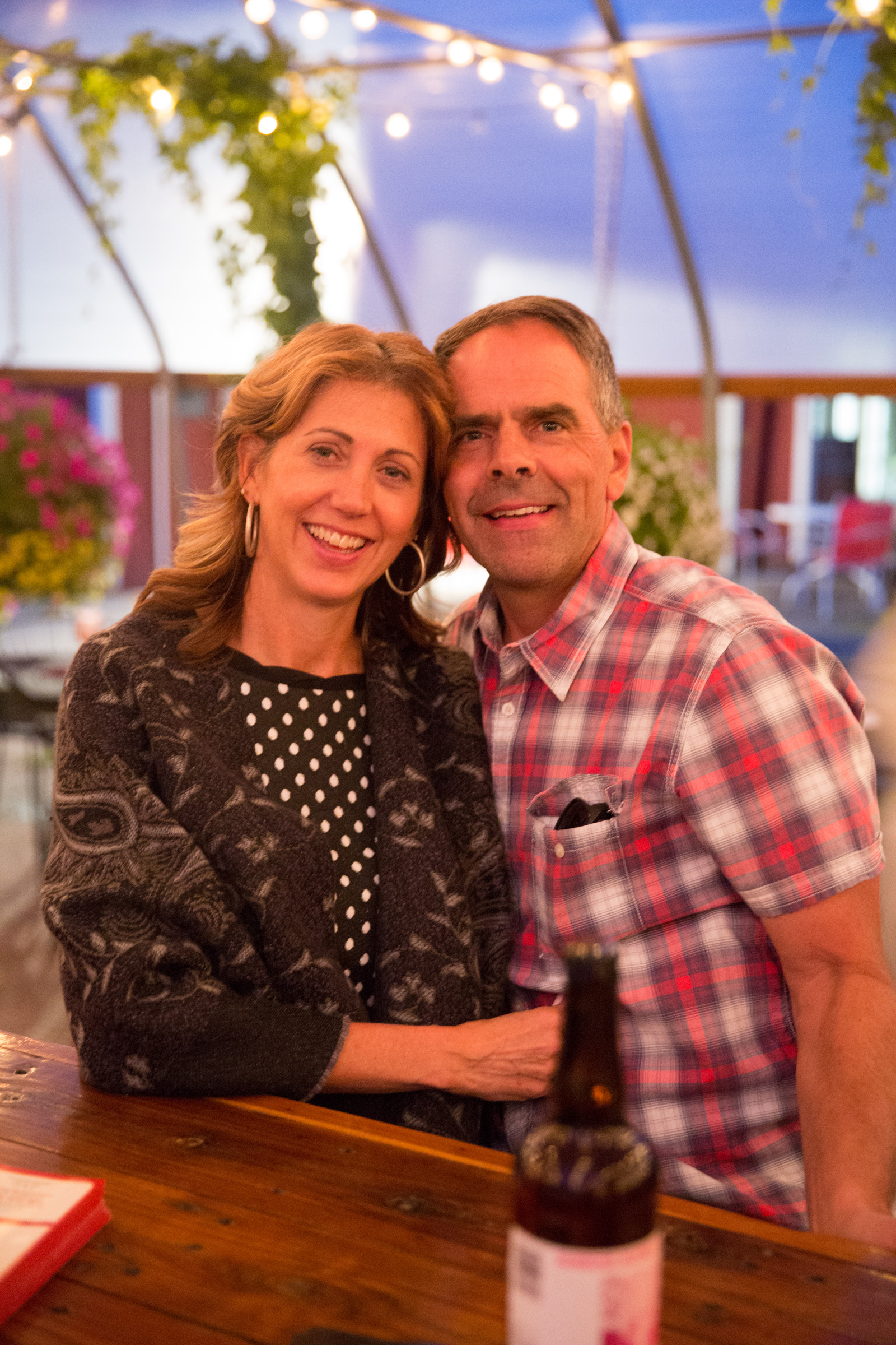 Jeff and Ronda Bosma, owners of Cherry Hill orchard and market