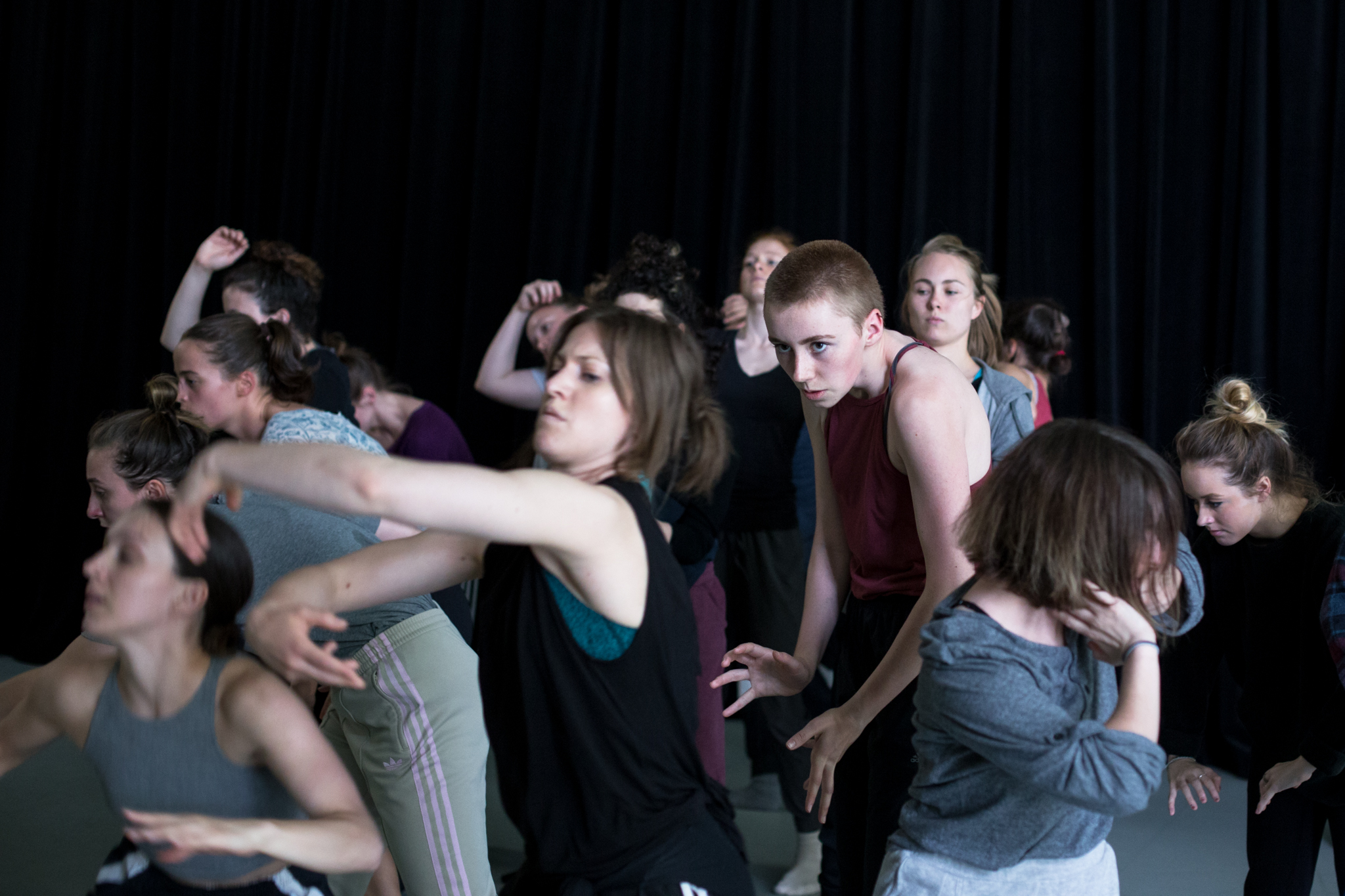 © Anne-Flore de Rochambeau // TransFormation Danse 2017 | Julie Tymchuk, Clarke Blair