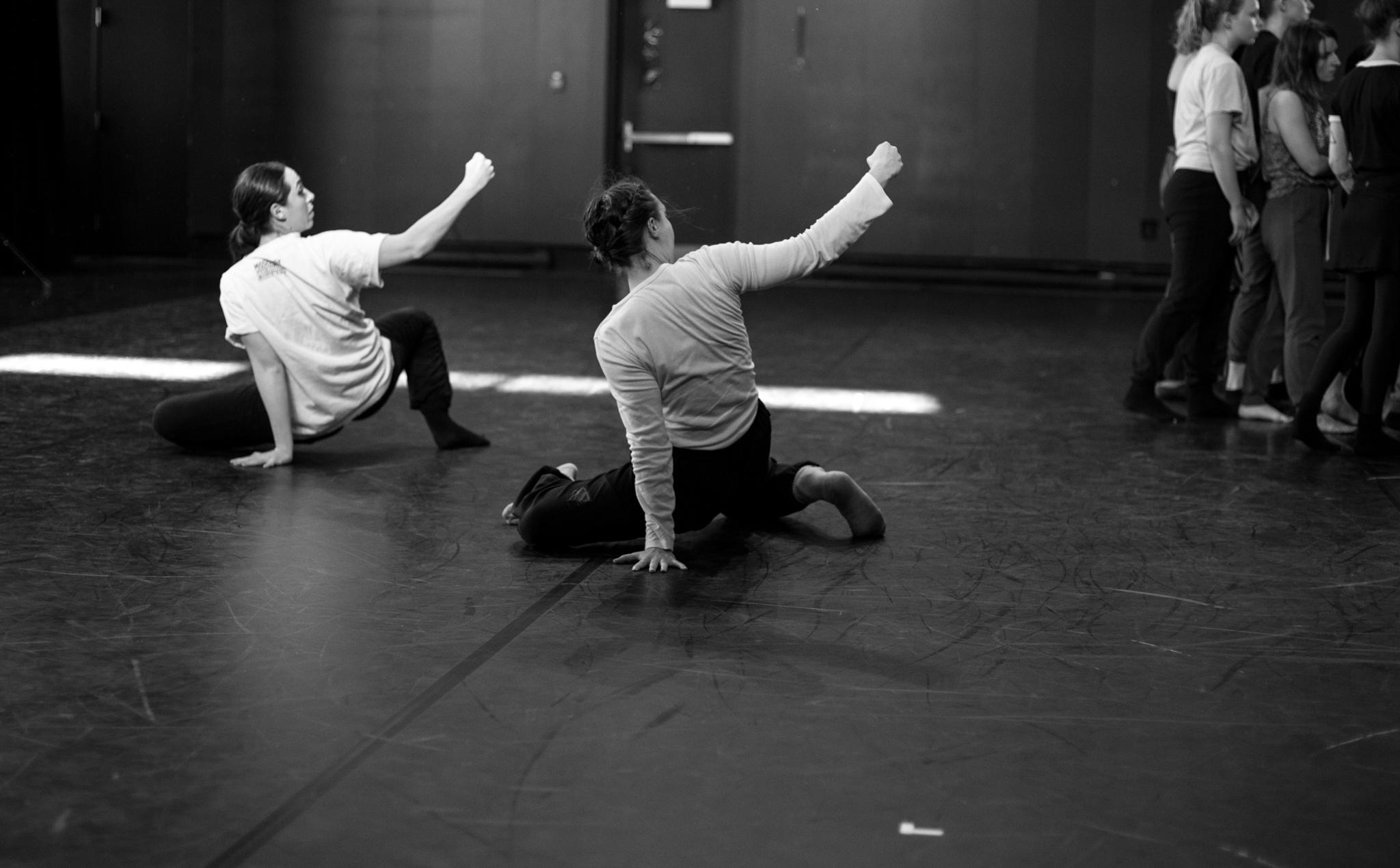 © Anne-Flore de Rochambeau // TransFormation Danse 2017 | Amanda Pye, Krista Newey