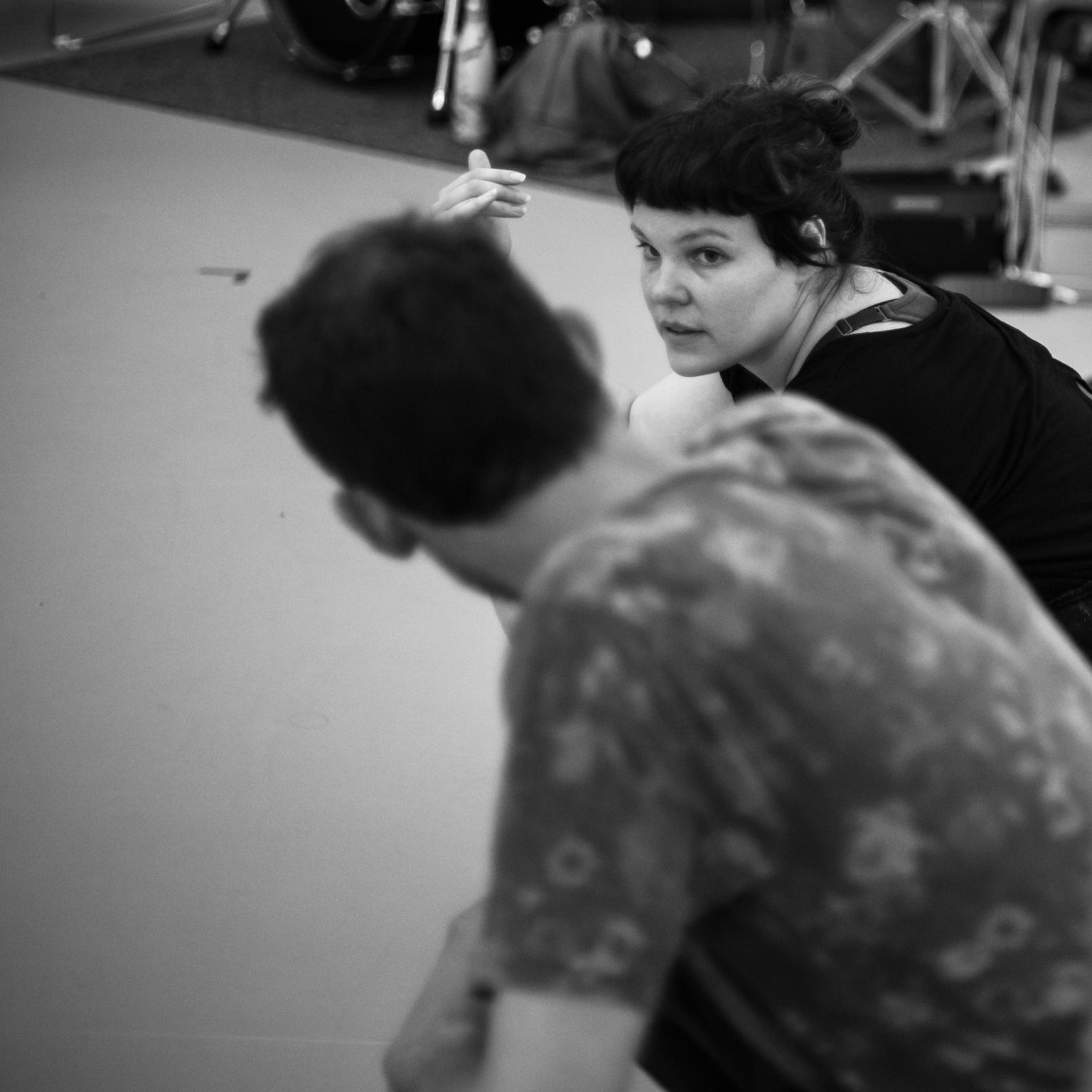 © Anne-Flore de Rochambeau // TransFormation Danse 2017 | David Albert-Toth, Emily Gualtieri