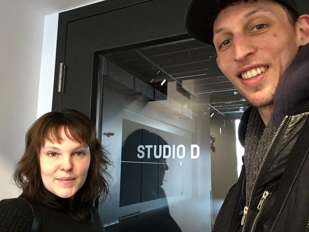 Emily & David | Studio D | Maison pour la danse