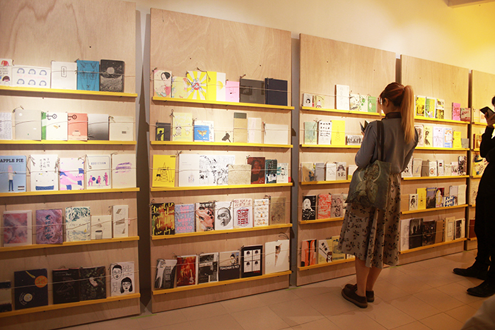 17 / 4 - 12 / 7 / 2019  Congratulations to Zine Coop for mounting  See. Saw. Zine? Publish Yourself!  at Taipa Village Macau this week! This show is a result of ZC's 2 years of zine collecting and programming, and I am so happy to see it up.