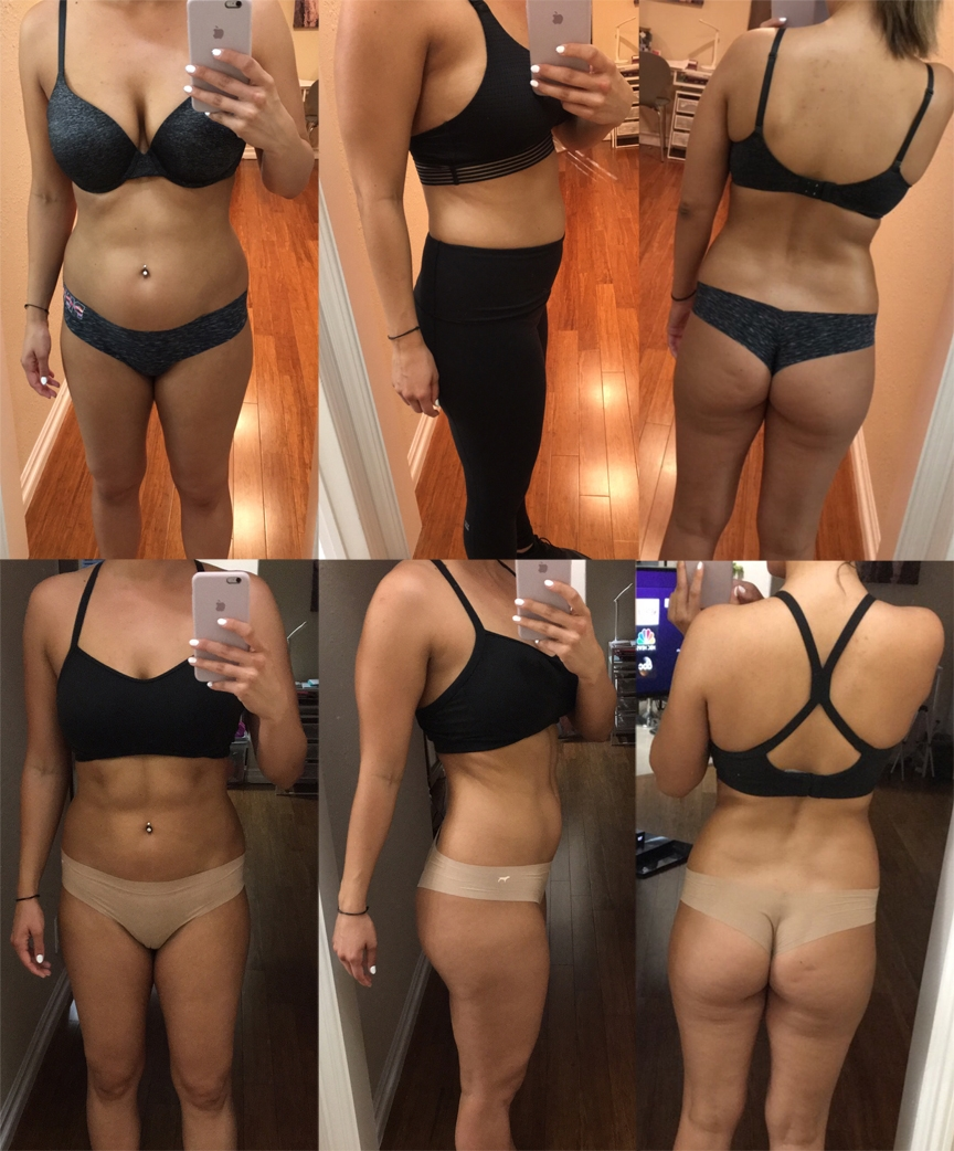 She needed a nutrition plan to gain muscle and lose body fat while maintaining her vigorous ( sometimes twice daily ) workouts.