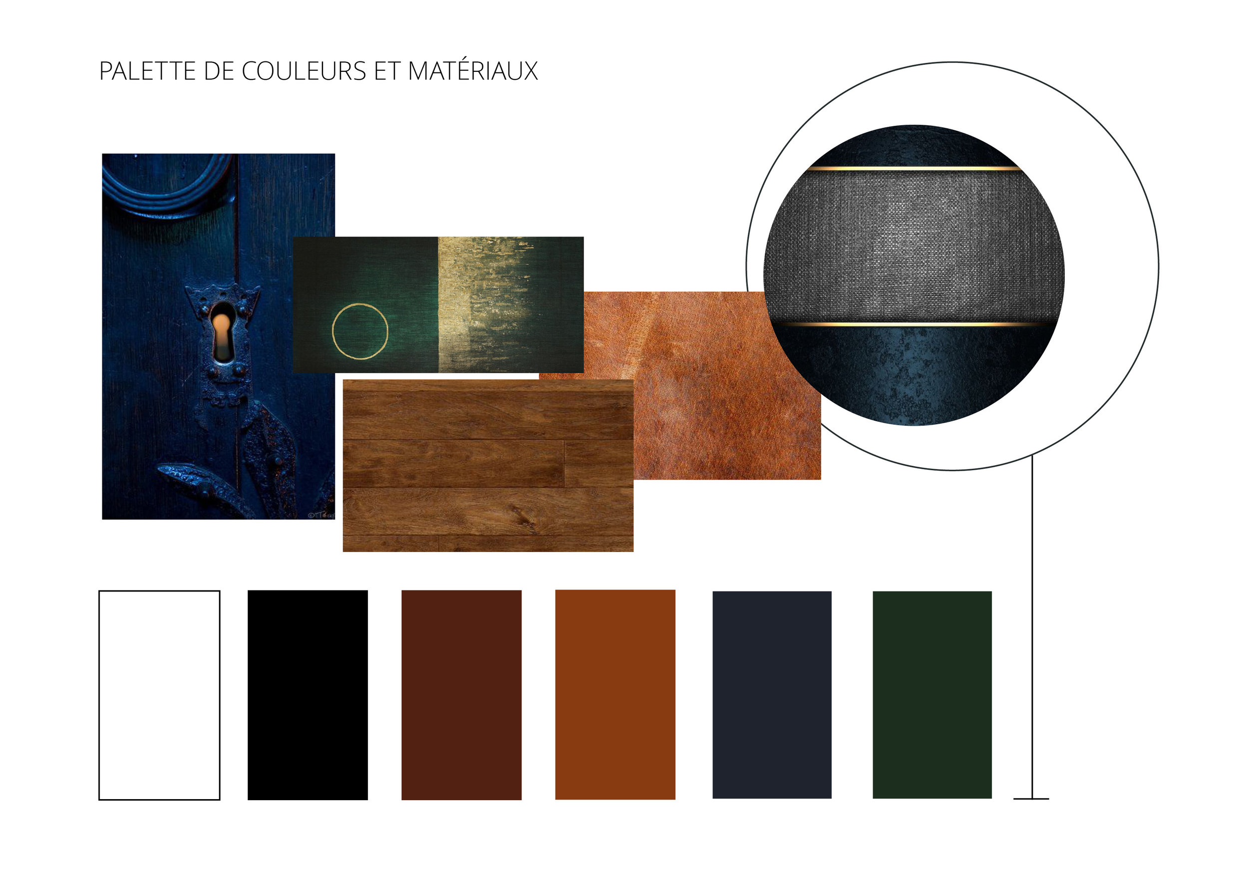Colour Palette and Material Selection