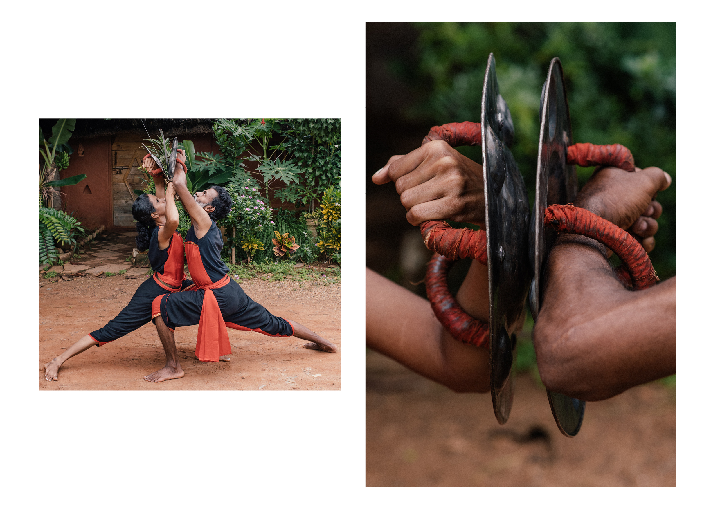 Kalari is a holistic art. students learn about acupressure and massage techniques as well as combat