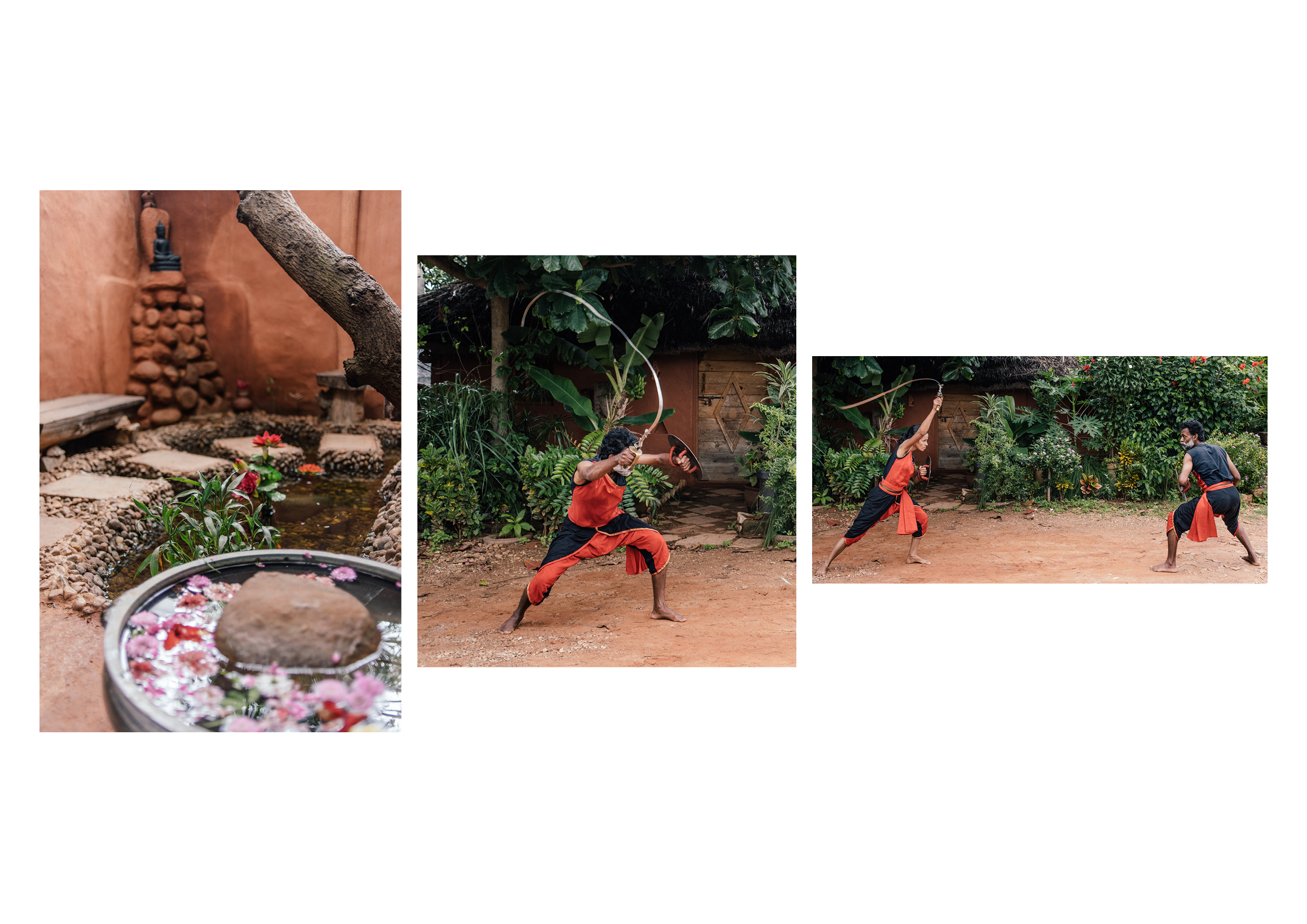 The Urumi- a six foot flexible sword is the final weapon taught in Kalaripayattu, and is considered to be as lethal as the body.