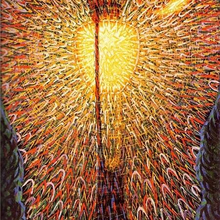 Lampada ad arco, 1909 Giacomo Balla New York, Museum of Modern Art #lighting #lightingdesign #lightismore