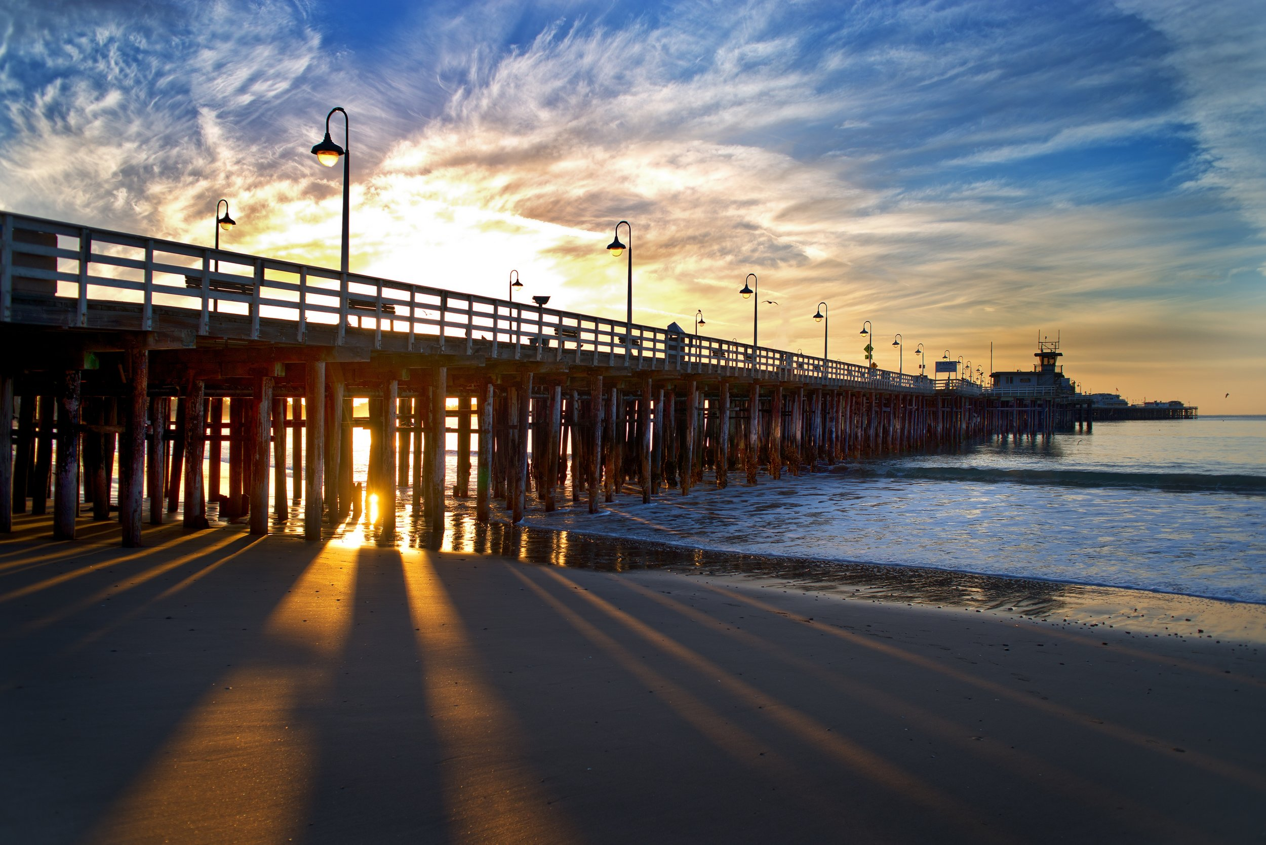 Santa Cruz Wharf Sunset - Photo Credit VSCC and Paul Schraub.JPG
