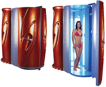 Colchester Sunbeds Aurora Stand Up