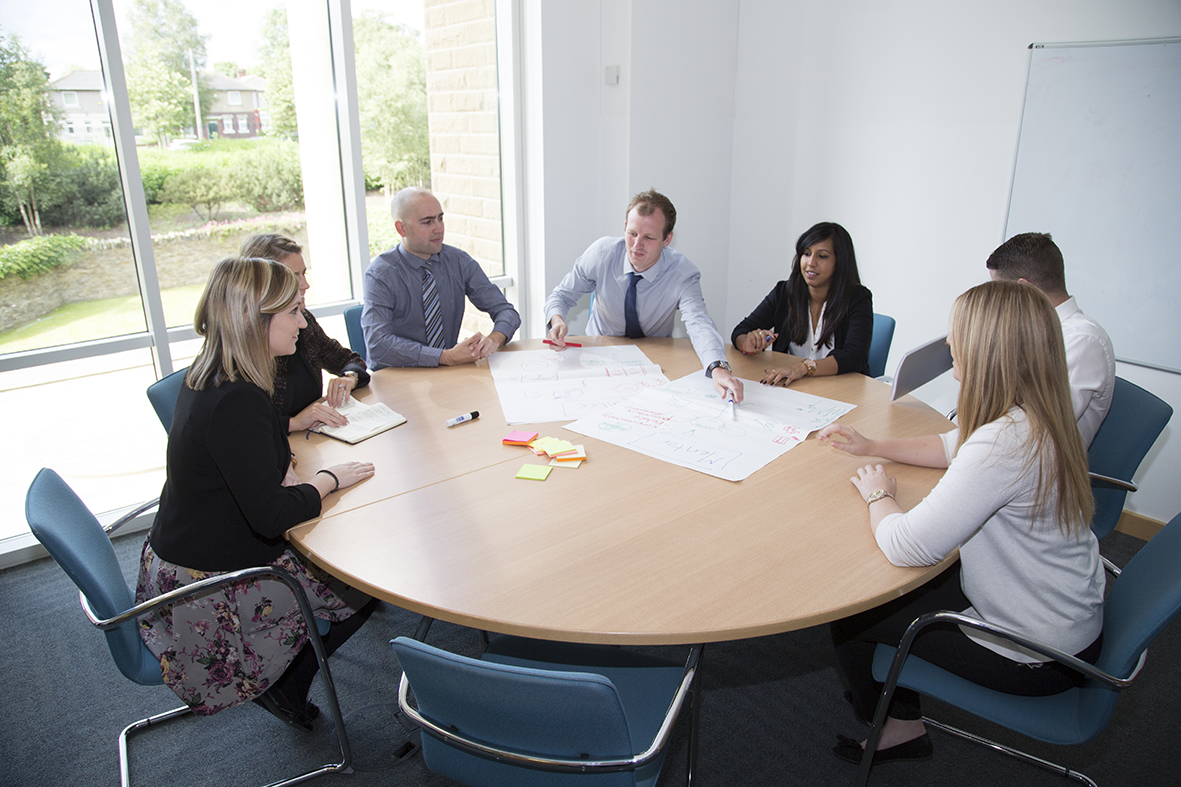 Working with a team on strengths-based performance improvement