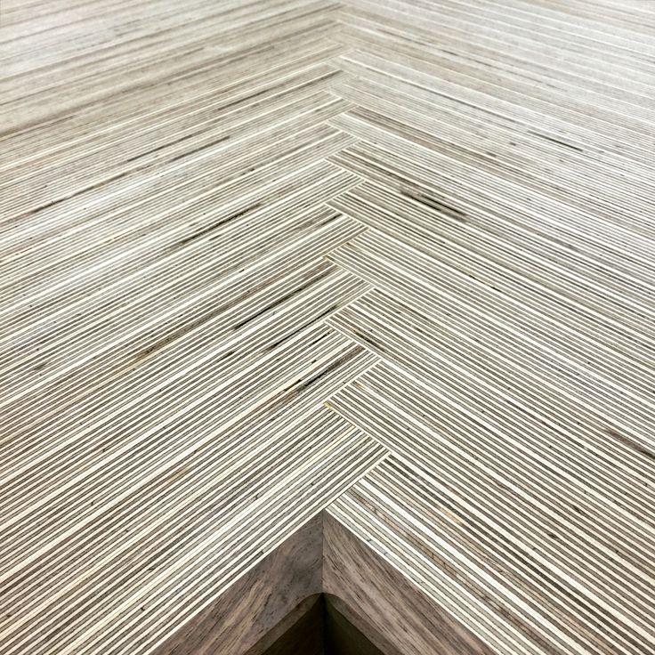 Scandinavian Birch Plywood counter