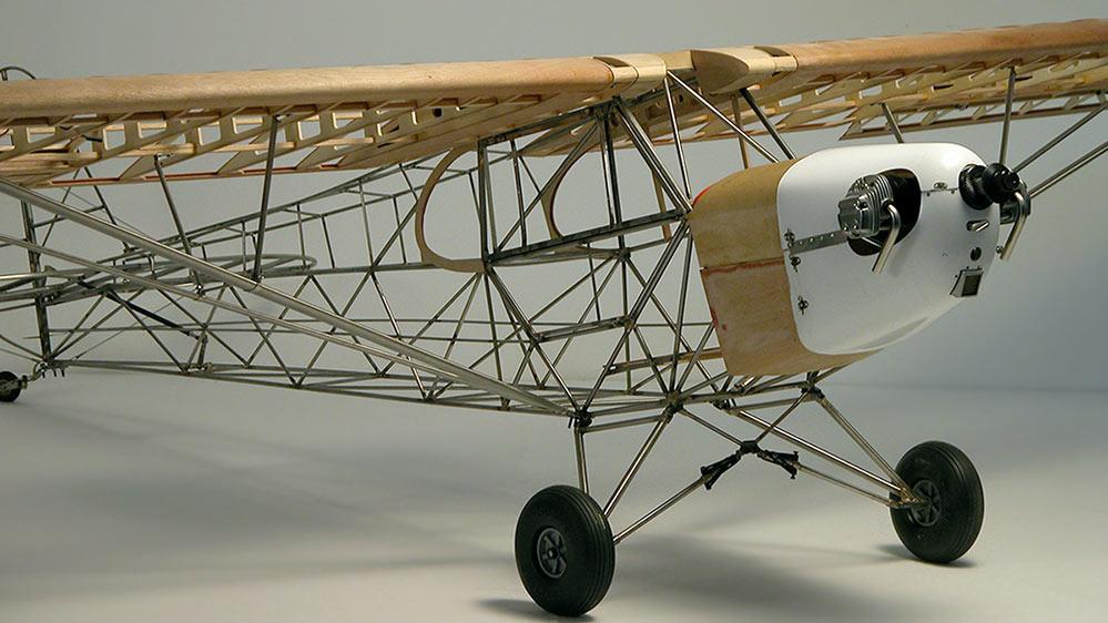 Piper J-3 Club  Model Aeroplane, via Toni Clark Model Aeroplanes.