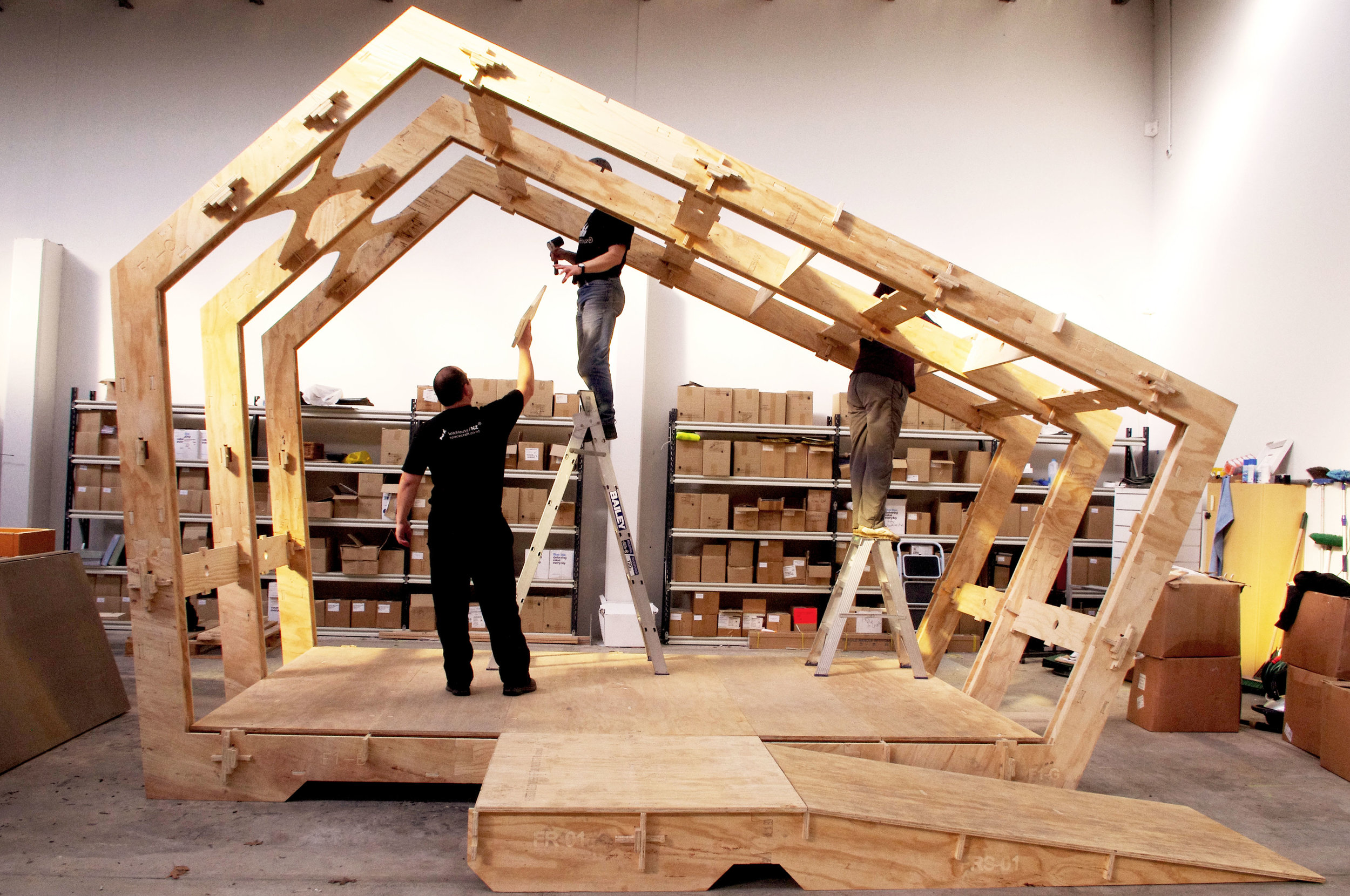 Cnc router cut  Wikihouse