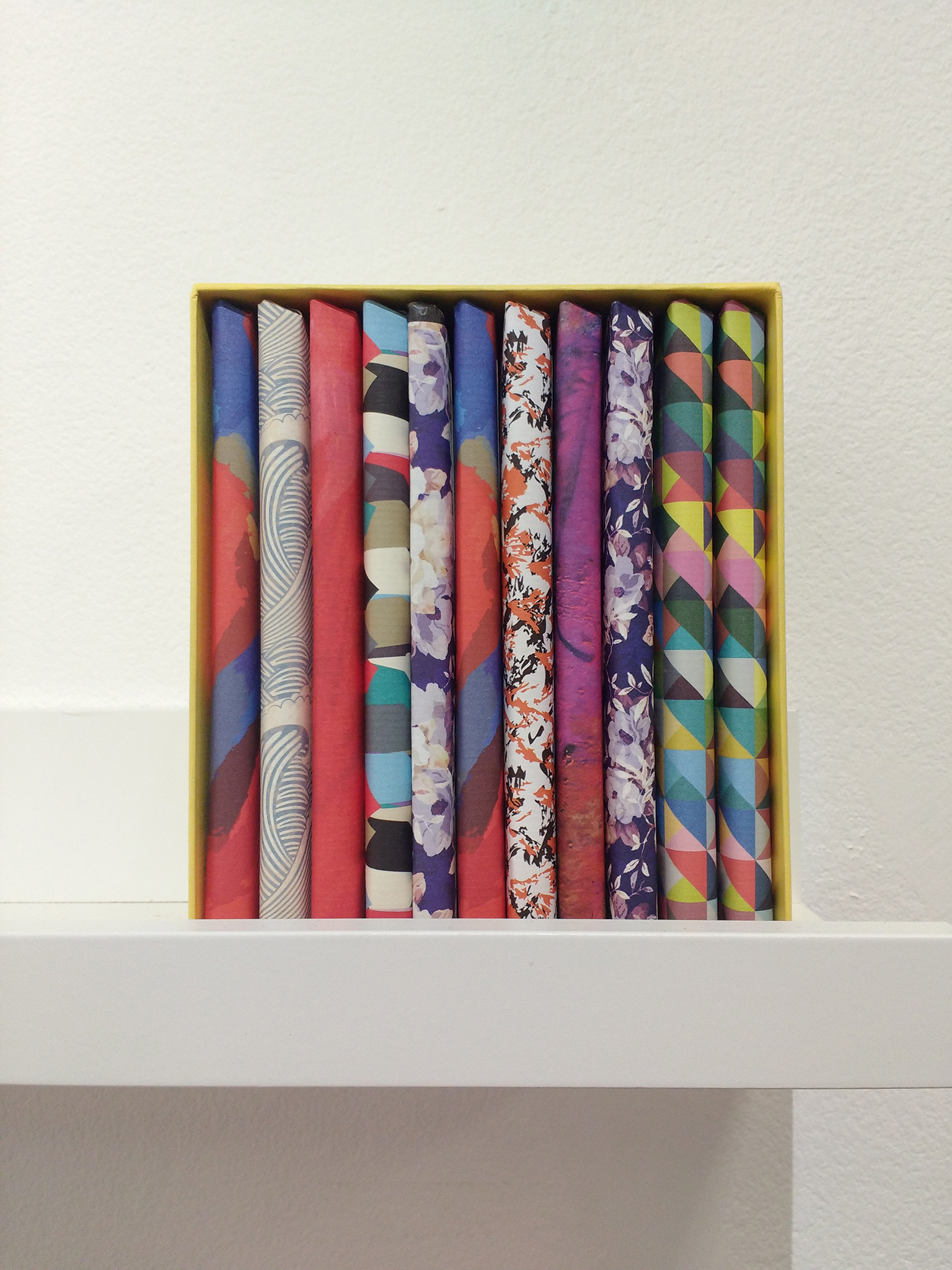 One of Coco Chocolatier's beautiful  12 bar boxes .