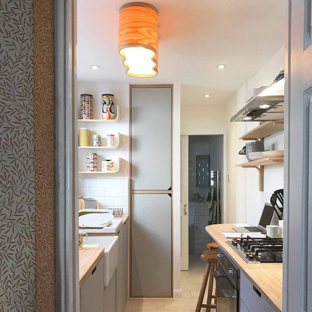 Georgina kitchen after Lozi's renovations