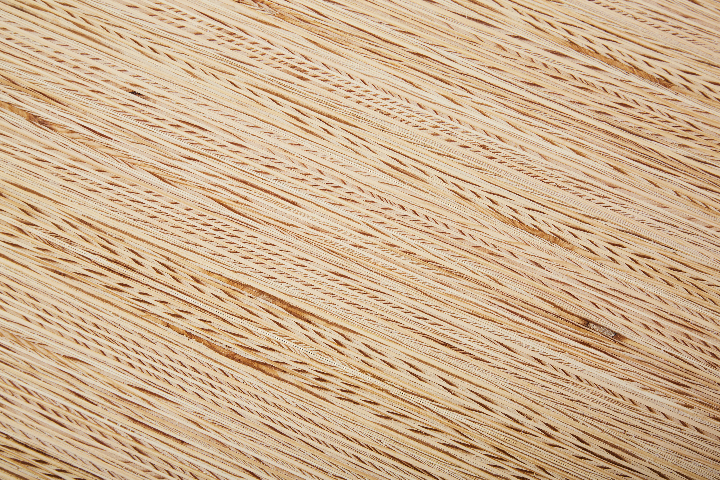 The edge grain pine detail used on the kitchen counters.